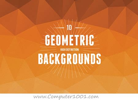 geometric abstract backgrounds