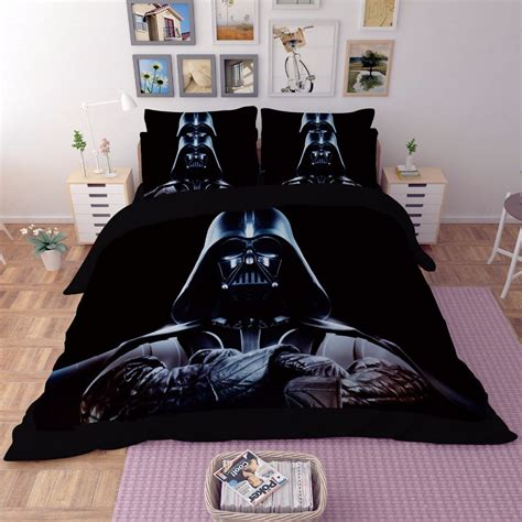 star wars king size bedding 4 pcs king size 3d star wars 15 bedding set duvet cover