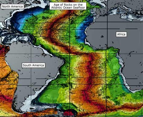 the oldest rock on the floor age of rocks on the atlantic seafloor