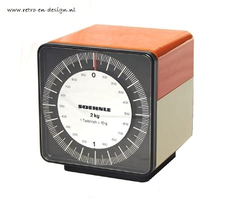 designer kitchen scales soehnle kitchen scale plastic design retro design