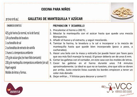 recetas de cocina para imprimir recetas de cocina para ni 241 os comida postres y