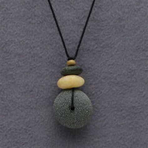 how to make rock jewelry necklace by suedavisjewelry jewelry 1
