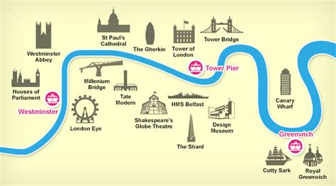 thames river map of london thames river cruise london city cruises london