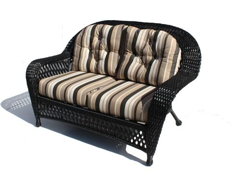 black wicker loveseat 42 best images about black wicker on pinterest
