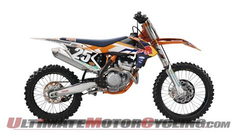 Ktm 250 Sx 2015 2015 Ktm 250 Sx F Factory Edition Unveiled Preview