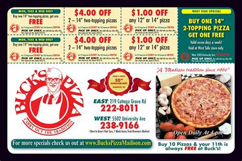 Pizza Cottage Grove Wi by Featured Advertisers Dollars And Sense Magazinedollars