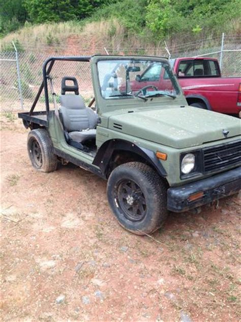 Suzuki Sidekick Custom Purchase New 1988 Suzuki Samurai Custom Built In