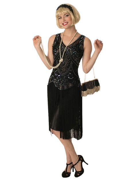 Age 20 S Blue 1920s style beaded black fringe jazz baby flapper dress 20s insired dresses blue velvet vintage