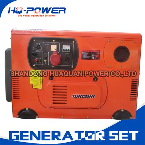 buy wholesale silent diesel generator 10kw from