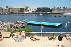 Floating Chairs Berlin S Floating Arena Badeschiff Swimming Pool Is The