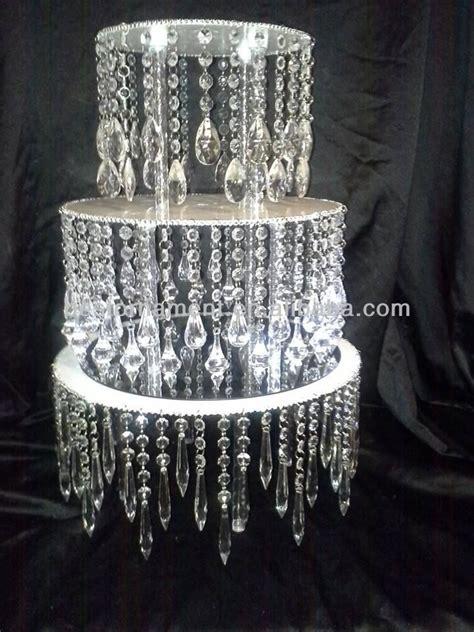 Acrylic Crystal Chandelier Wedding Cake Stand Buy Diy Chandelier Cake Stand