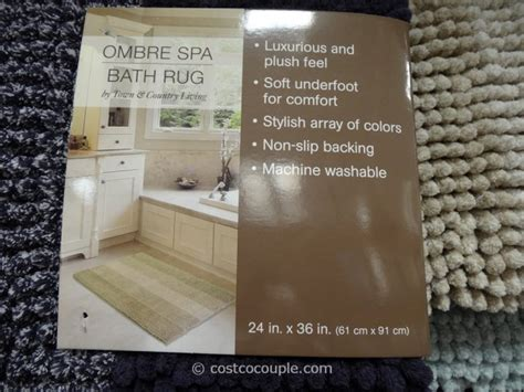 Kirkland Signature Luxury Spa Bath Rug Costco Rugs Costco Rugs On Sale Costco Clearance Kirkland Signature 100 Cotton Reversible