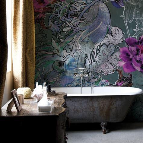bathroom wallpapers 10 of the best floral wallpaper bathroom wallpapers housetohome co uk