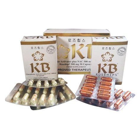 Kyusoku Bihaku Whitening Capsule kb kyusoku bihaku glutathione activator plus whitening pills and rosehip 30 each