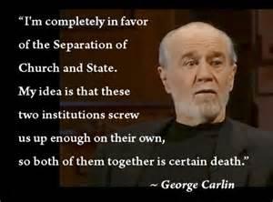George Carlin Meme - george carlin says it all the widdershins