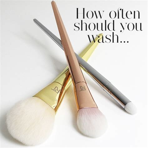 How Often Should You Do A Detox by How Often Should You Clean Makeup Brushes Tips From Real