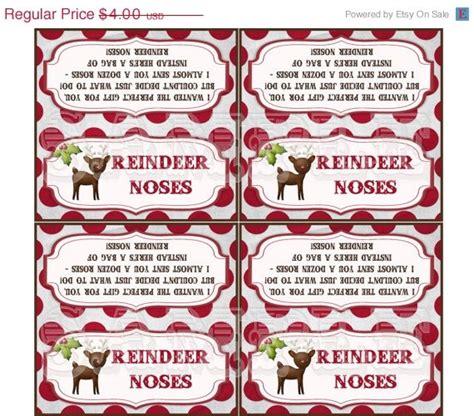 printable reindeer nose tags best photos of reindeer noses printable free printable