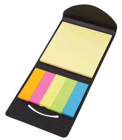 The Sticky Factor 2 by Sticky Note Pad And Flag Set