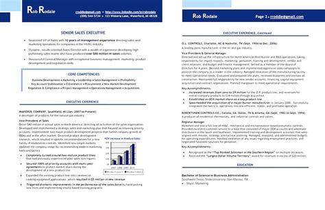 Executive Resume Exles by 17580 Free Executive Resume Templates 10 Executive