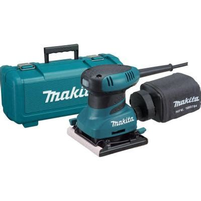 makita 1 4 in sheet finishing sander with tool