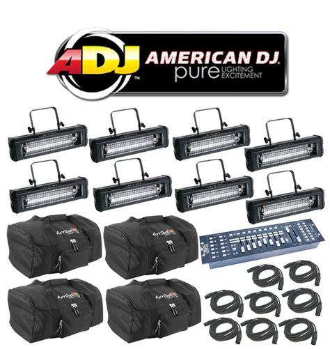 dj flash light price american dj lighting 8 mega flash dmx party 800w stobe