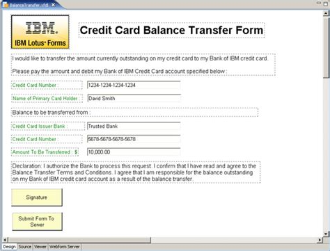 Credit Transfer Form Rmit Developing A Secured Non Repudiation Ibm Lotus Forms Solution With Authenticated Clickwrap