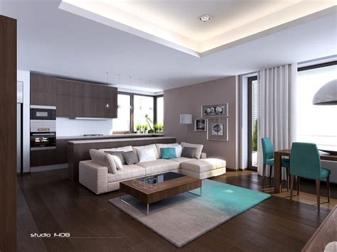 Modern Apartment Living Interior Design Ideas Modern Apartment Interior Design