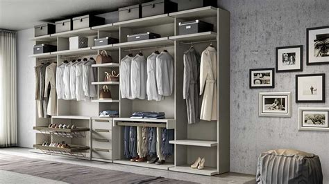 vestidor  open gris muebles aguado