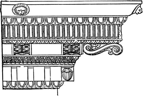 clipart cornice what is an entablature definition with exles