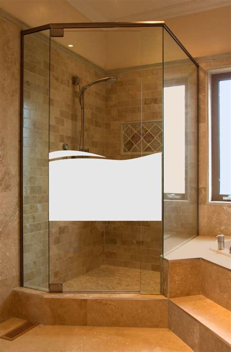 Fenster Dusche Sichtschutz by Aufkleber Glasdekor Dusche Sichtschutz 666 Welle Folie H