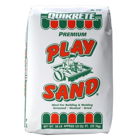 play sand for sand shop quikrete 50 lbs play sand at lowes com