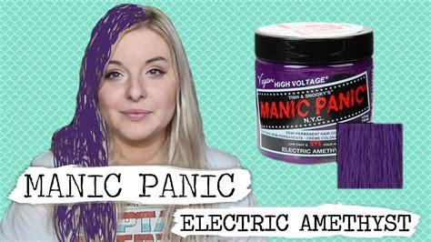 Manic Panic Classic Electric Amethyst Berkualitas manic panic electric amethyst purple review