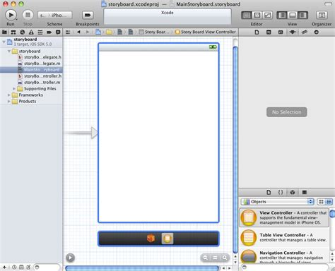 xcode collection view layout using xcode storyboarding iphone ios 5 techotopia