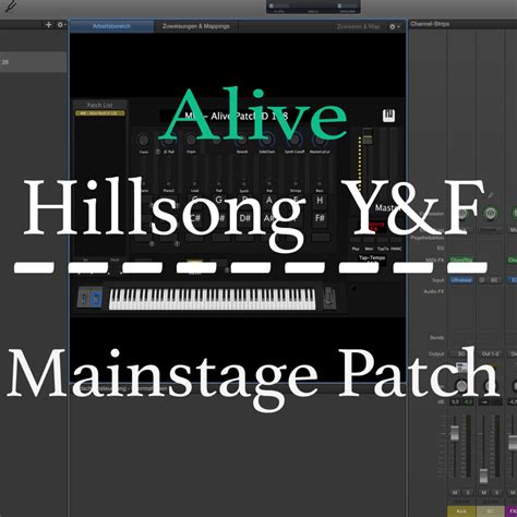 mainstage concert templates alive y f mainstage patch martin wiegel
