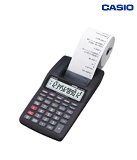 Calculator Printing Casio Hr 8tm casio mini printer calculator hr 8tm buy at best price in india snapdeal