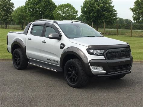 Ford Ranger Silver Peredam Kap Mesin 1 used 2017 ford ranger 3 2 tdci wildtrak cab up 4x4 4dr eu6 for sale in suffolk