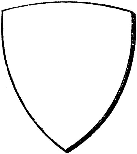 shield patch template bouche shield clipart etc