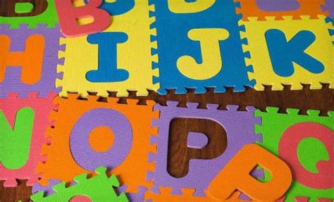 alphabet abc floor play mat foam mat puzzle tile age 2