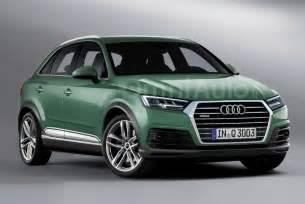Next Generation Audi Q3 2018 Audi Q3 Render Points Towards Predictable Design