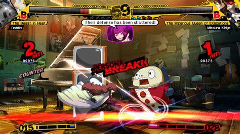 persona 4 arena persona 4 arena box revealed alongside arcade mode
