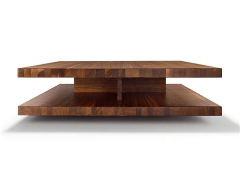 low square coffee table wooden low square wooden coffee table c3 by team 7 nat 220 rlich