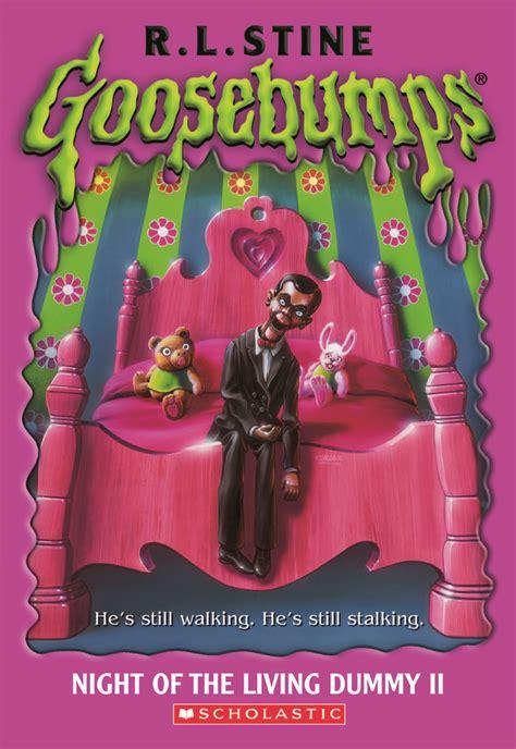 Rlstine 11 Buku goosebumps of the living dummy ii goosebumps original covers kid