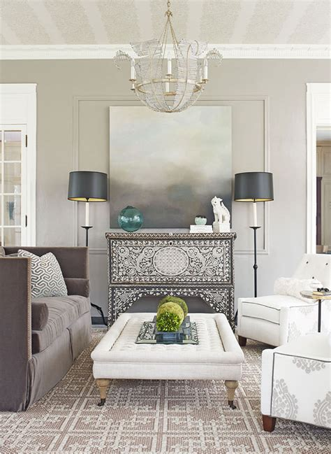 Home Decor Grey Walls Decorating Gorgeous Gray Rooms Traditional Home