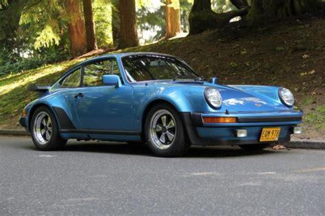 porsche 930 turbo blue porsche 930 coupe 1979 minerva blue for sale 9309800336