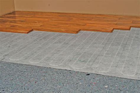 Wood Floor Radiant Heat by Floating Floor Underlayment Radiant Heat Floor Matttroy
