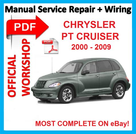 free online car repair manuals download 2000 chrysler lhs head up display official workshop manual service repair for chrysler pt cruiser 2000 2009 ebay