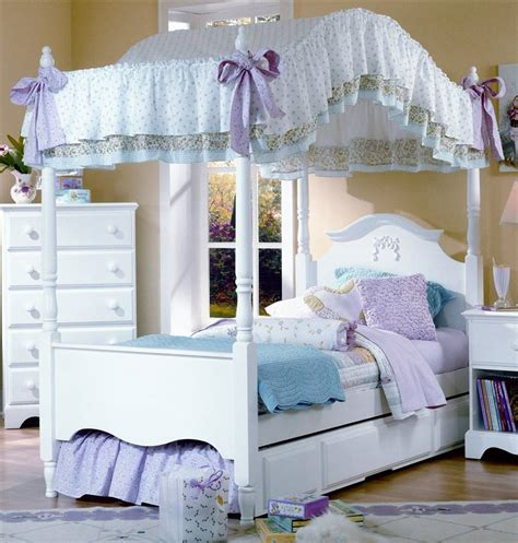 girls twin canopy bed awesome best 25 girls canopy beds ideas on pinterest for