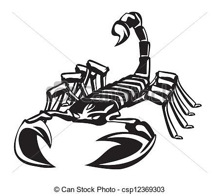 vector clipart of scorpion csp12369303 search clip art