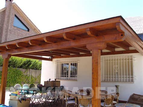 cobertizos ingles construcci 243 n de pergolas de madera porches garajes y