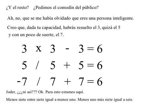 test matematica test de matematicas
